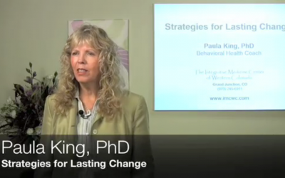 Strategies for Lasting Change by Dr. Paula King
